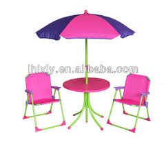 Children Patio Furniture by Pink Kids Patio Set For Girls Kids Outdoor Furniture Table And