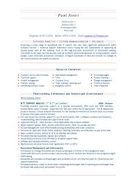 it systems administrator resume business list templates event to