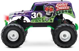monster truck grave digger video monster jam grave digger toy for kids youtube