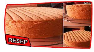 cara membuat kue bolu jadul resep cara membuat ciffon bolu jadul lembut youtube