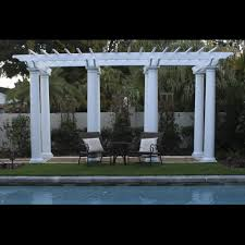 Concrete Pergola Designs by Pergola Design Ideas Pergola With Columns Most Chosen Design White