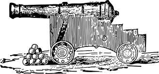 cannon clip art at clker com vector clip art online royalty
