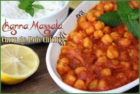 cuisine pakistanaise recette curry de pois chiche channa massala recettes faciles recettes
