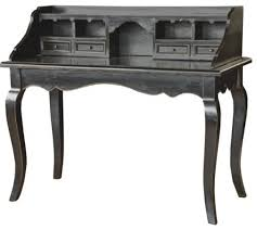 black vintage style writting desk traditional desks and