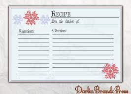 photo sending recipe cards for bridal image