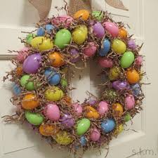 how to make easter wreaths easter egg wreath is easy and inexpensive small talk