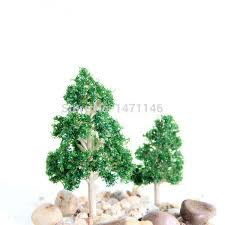 10pcs diy material mini tree pine tree terrarium decoration