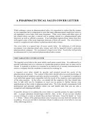 Pharmaceutical Sales Resume Sample by Pharmaceutical Sales Cover Letter My Document Blog
