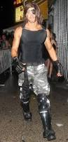kellan lutz dresses up as escape from new york u0027s snake plissken