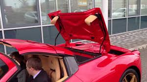 458 spider rear 458 spider open and closes the roof