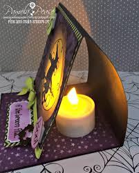 light halloween tea light halloween card pink and main blog