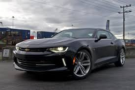 camaro rs v6 review 2016 chevrolet camaro ny daily