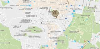 Map Walking Distance Map U0026 Directions Electra Palace Hotel Athens Greece Book Online