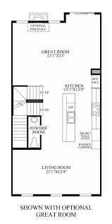 Room Floor Plans by Moorefield Green The Manors The Bethesda Home Design