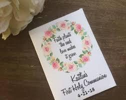 holy communion favors communion favors etsy