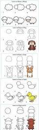 best 25 easy animal drawings ideas on pinterest simple animal