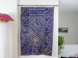 decorating decorative tapestry wall hangings with interior potted