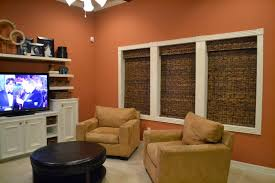 design showcase burnt orange in the living room schue love
