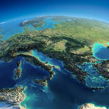 Map Eastern Europe Raised Relief Map Of Central And Eastern Europe By Anton Balazh