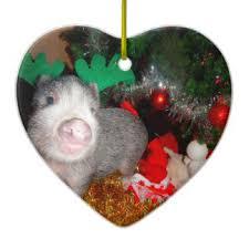 pig themed ornaments u0026 keepsake ornaments zazzle