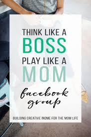 graphic design business from home mom entrepreneur passive income facebook group creative income