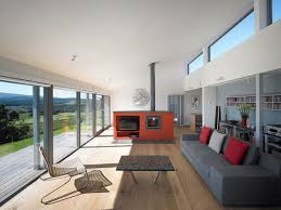 bild architects shipping container house design view from