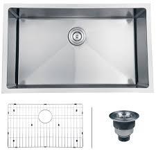 ruvati rvh7300 undermount 16 gauge 30 u2033 kitchen sink single bowl