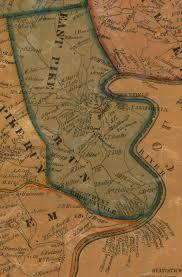 Washington County Pa Map by Barker U0027s Map Of Washington County