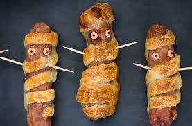 halloween mummy sausage rolls free from heaven