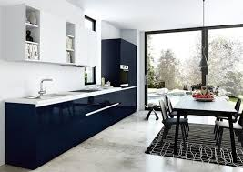 idee cuisine design cuisine bleu gris canard ou bleu marine code couleur et idées de