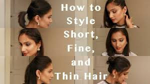 heatless hairstyles for thin hair 6 heatless hairstyles for fine thin and short hair how to style