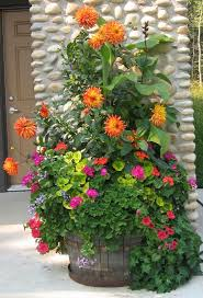 Potted Plant Ideas For Patio by Eye Catching Wonderful And Creative Patio Planter Ideas Planters
