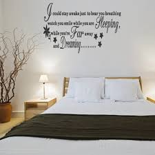 Black And White Wall Decor For Bedroom 20 Wall Art Decals For Bedroom Wall Decals For The Bedroom Wall