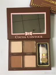 cocoa contour kit highlighters palette color cosmetics face