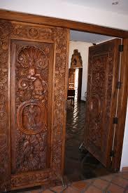 Unique Front Doors Ornamental Carved Wooden Front Door Sweets Pinterest