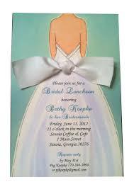 bridesmaid lunch invitations bridal lunch invitations kawaiitheo
