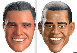 halloween spirit masks presidential halloween mask sales barack obama beating mitt