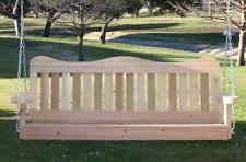 wood porch swing ebay