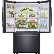 lowes black friday refrigerator deals shop samsung 25 5 cu ft french door refrigerator with ice maker