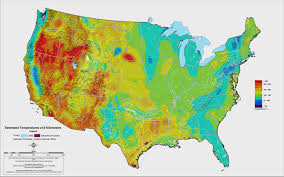 World Temperature Map by What U0027s Next For Geothermal Heat Energy Ge Global Research