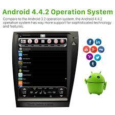lexus visa application 12 1 inch hd touch screen android 4 4 2 gps navigation car radio