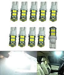 amazon led auto lights amazon com cutequeen trading 10pcs led car lights bulb white t10