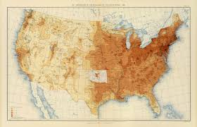 united states population map the national atlas