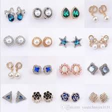 best earrings best earrings fashion jewelry new design 925 sterling silver small