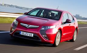 opel vauxhall opel vauxhall ampera soon to be available to rent from europcar