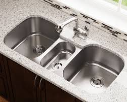 Triple Bowl Stainless Steel Sink - Triple sink kitchen