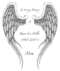 memorial angel wings cross tattoo design in 2017 real photo