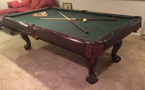 used pool tables for sale in ohio value of an 8 brunswick manchester ii pool table