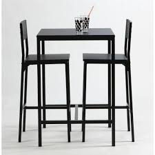 table haute de cuisine avec tabouret bjursta henriksdal table de bar 4 tabourets ikea table haute de