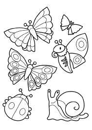 coloriage à dessiner les insectes